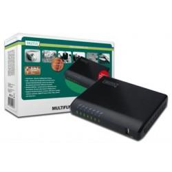 USB võrguserver, 4 -porti, NAS, printserver USB 2.0