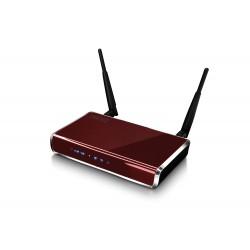 Ruuter 2,4GHz 300Mbps ADSL, punane