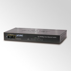 Switch 8-porti 10/100Mbps, metallkorpus