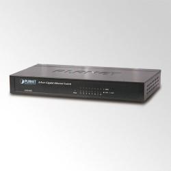 Switch 8-porti 10/100/1000Mbps, metallkorpus