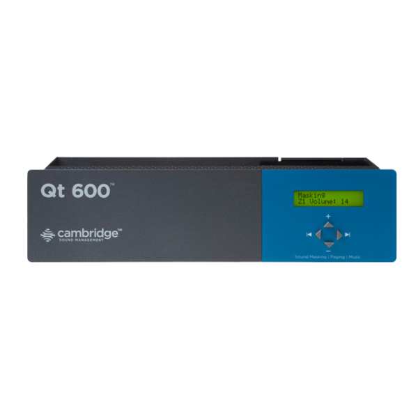 Helimaskeeringu kontrollseade Qt 600
